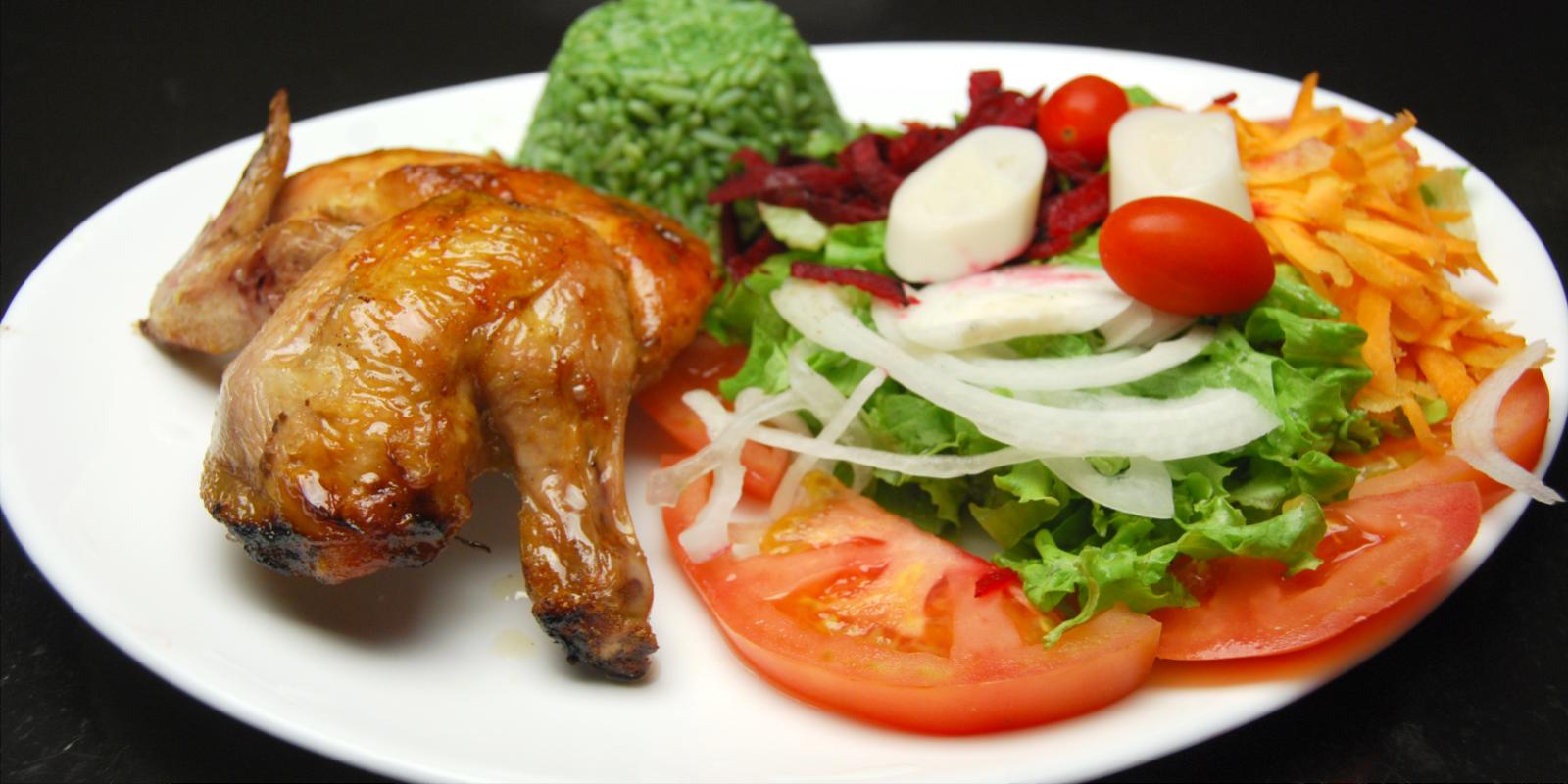 Galeto com Salada ou à Campanha
